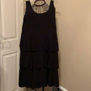 Lovely flounced cocktail dress